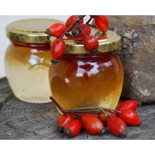 Miele di Acacia Purissimo e Bacche di Rosa Canina