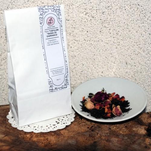 Tea Ceylon e Boccioli di Rosa Damascena 40g